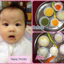 Mẹ Việt chia sẻ thực đơn ăn dặm lý tưởng cho bé 6 tháng tuổi