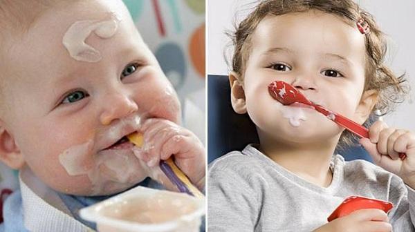 6 quy tắc vàng để bé ăn sữa chua thun thút hấp thụ 100% dinh dưỡng