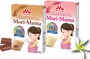 Sữa bầu Mori-Mama vị vani, socola