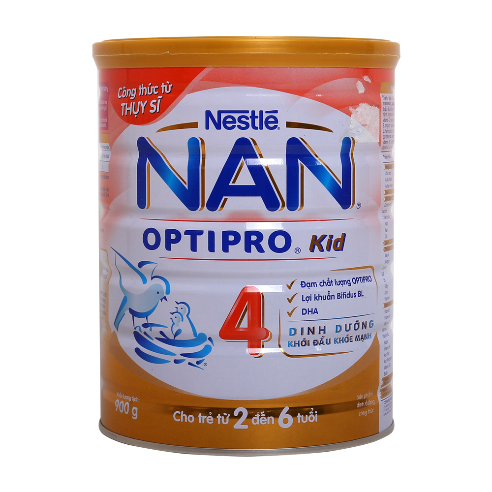 Sữa Nan Kid 4 900g của nga