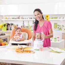 Máy xay thức ăn cho trẻ Philips Avent 2 trong 1 rất tiện lợi
