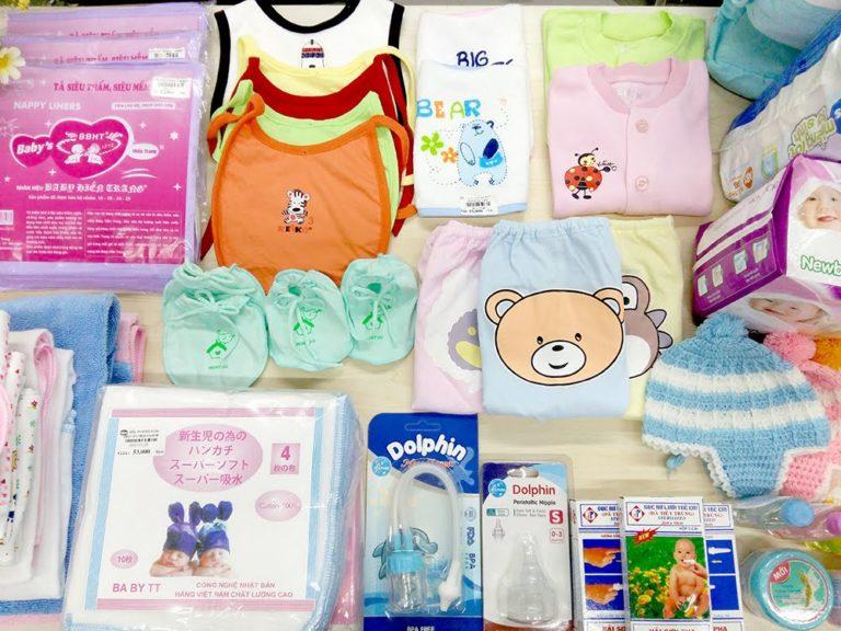 Những đồ dùng không thể thiếu cho trẻ sơ sinh