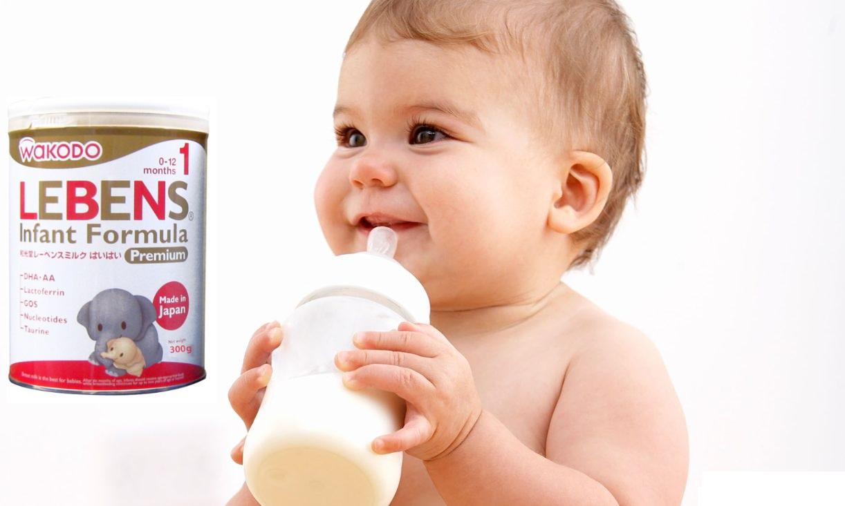 Pha sữa Wakodo Lebens 1 300g loãng hoặc đặc hơn định lượng được không?