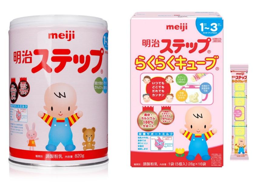 Sữa Meiji số 9 dạng bột và thanh
