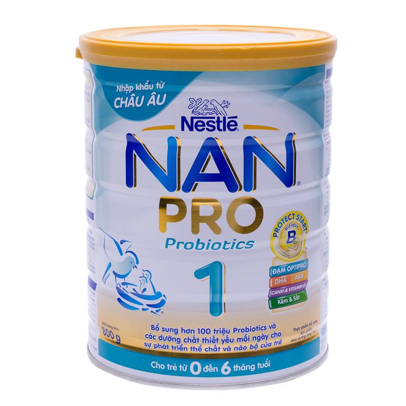 sữa tốt cho trẻ sơ sinh