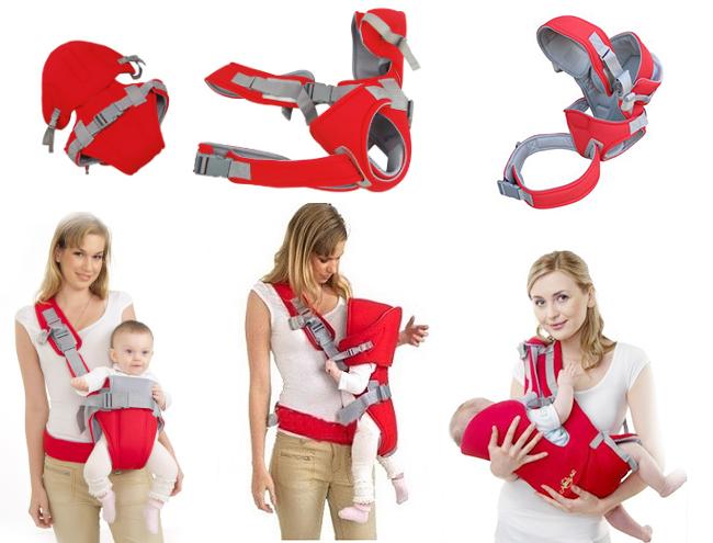 Hướng dẫn cách sử dụng địu em bé an toàn và đúng cách