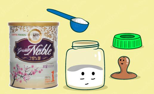 Hướng dẫn cách pha sữa Grand Noble số 1 đúng chuẩn nhất