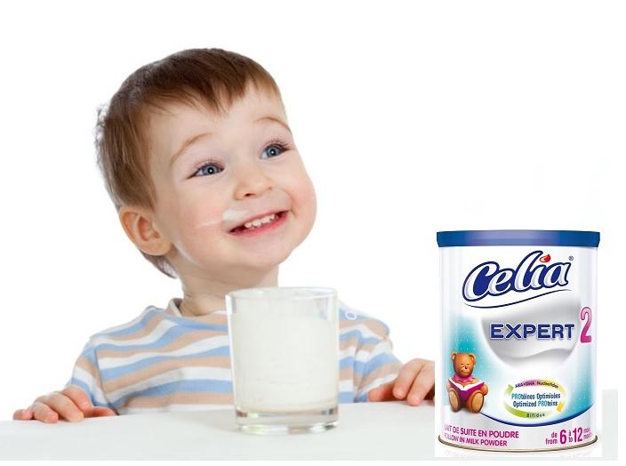 sữa celia expert số 2