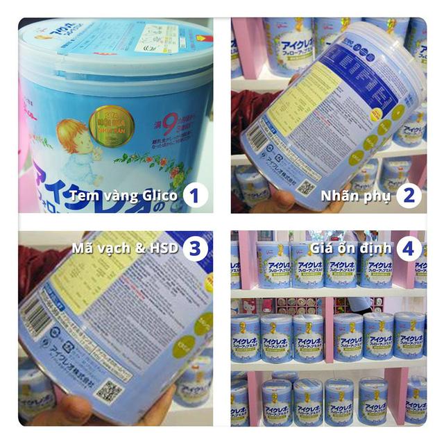 Sữa Glico nội địa Nhật nhập khẩu nguyên lon và độc quyền bởi công ty TNHH phân phối SnB
