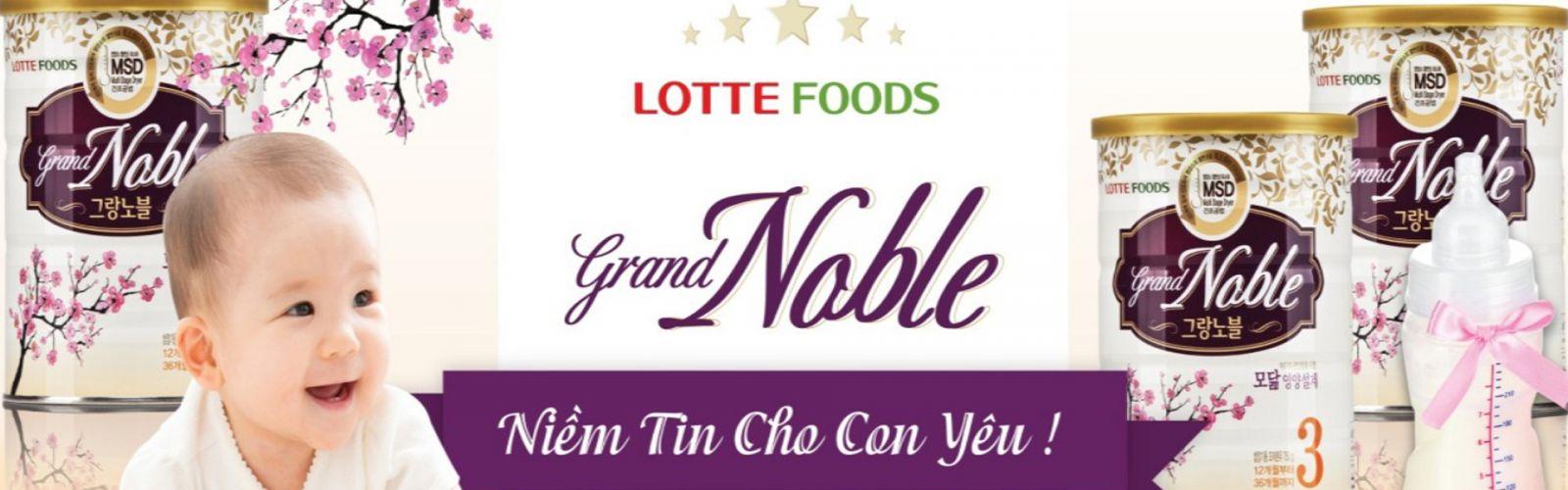 Sữa Grand Noble có tốt không? Có ưu điểm gì nổi bật?