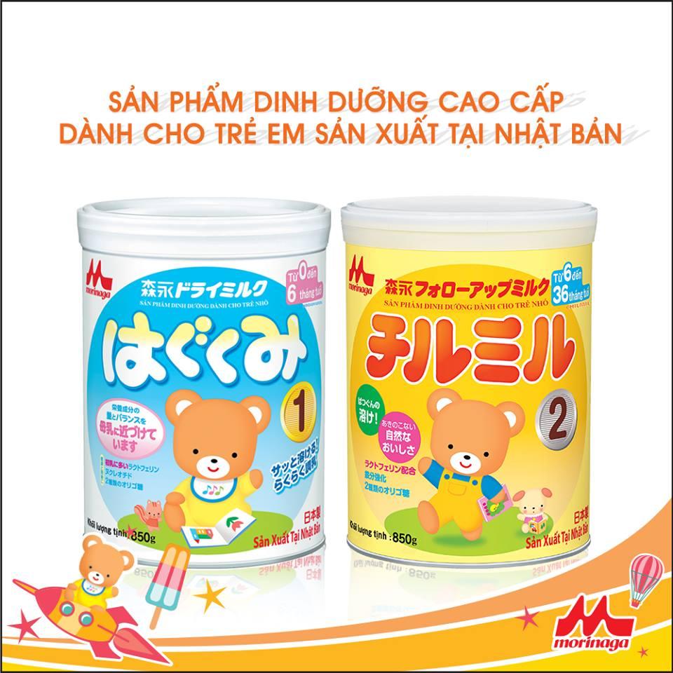 Vì sao sữa Morinaga số 1, số 2 phù hợp với thể trạng trẻ em Việt Nam nhất?
