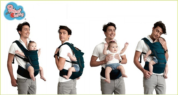 Hướng dẫn sử dụng đeo địu em bé 4 tư thế chi tiết