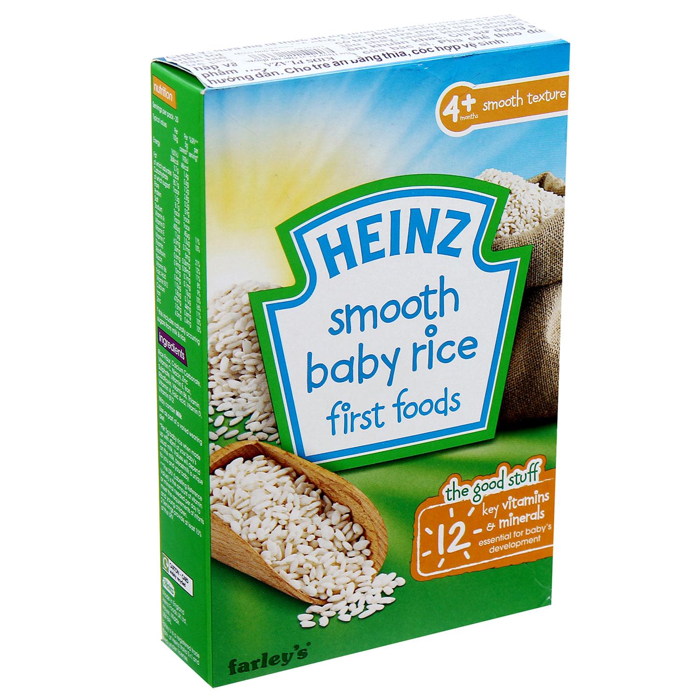 bột ăn dặm Heinz vị gạo xay nhuyễn