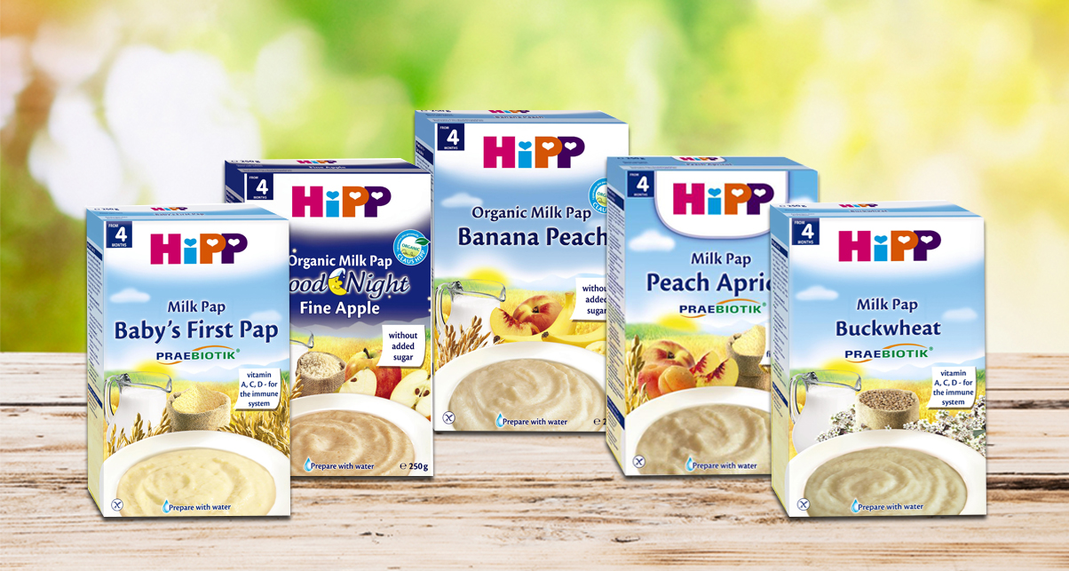Bột ăn dặm Hipp chứa sữa - Bột ngọt - Milk Pap