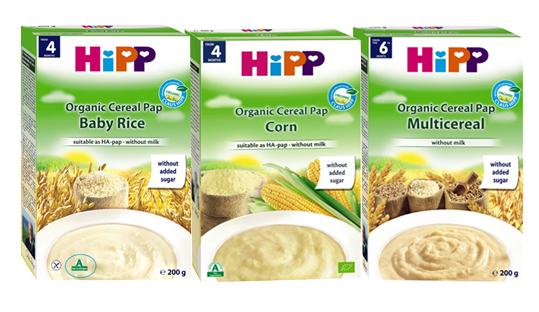 Bột ăn dặm Hipp không chứa sữa - Without Milk