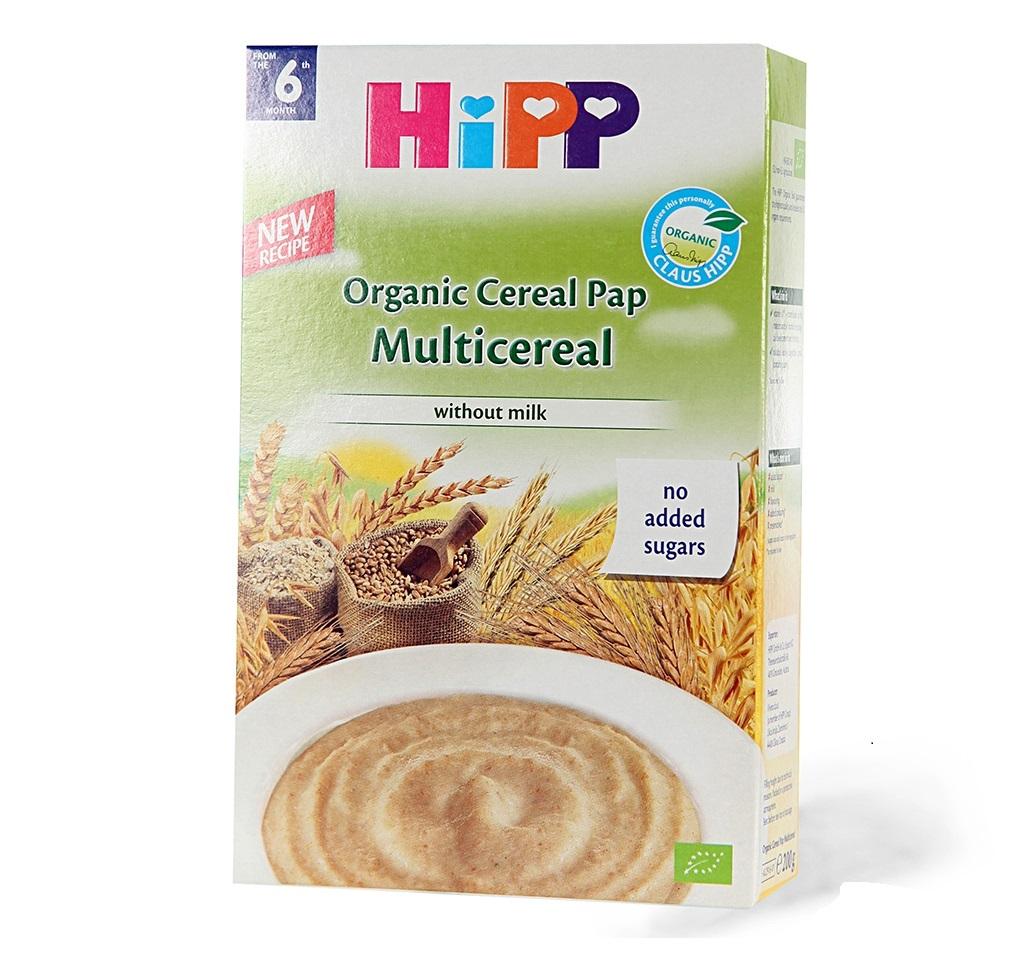 Bột ăn dặm Hipp không chứa sữa vị ngũ cốc tổng hợp