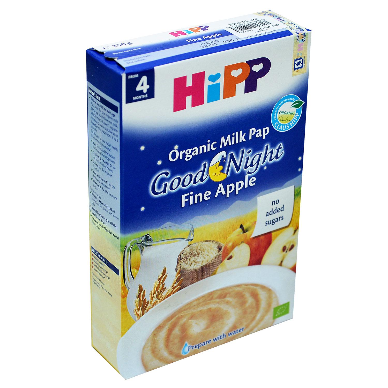 bột ăn dặm Hipp vị táo tây (Chúc bé ngủ ngon)