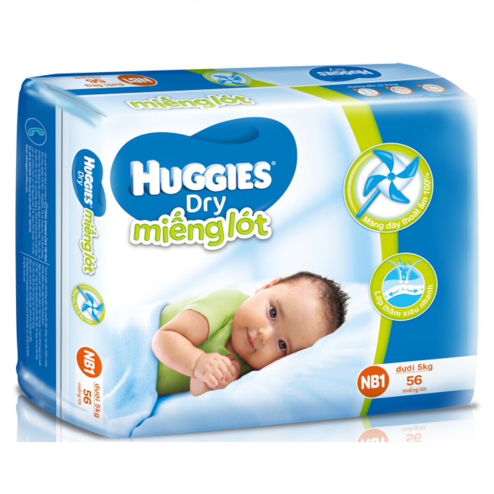 bỉm Huggies newborn 1
