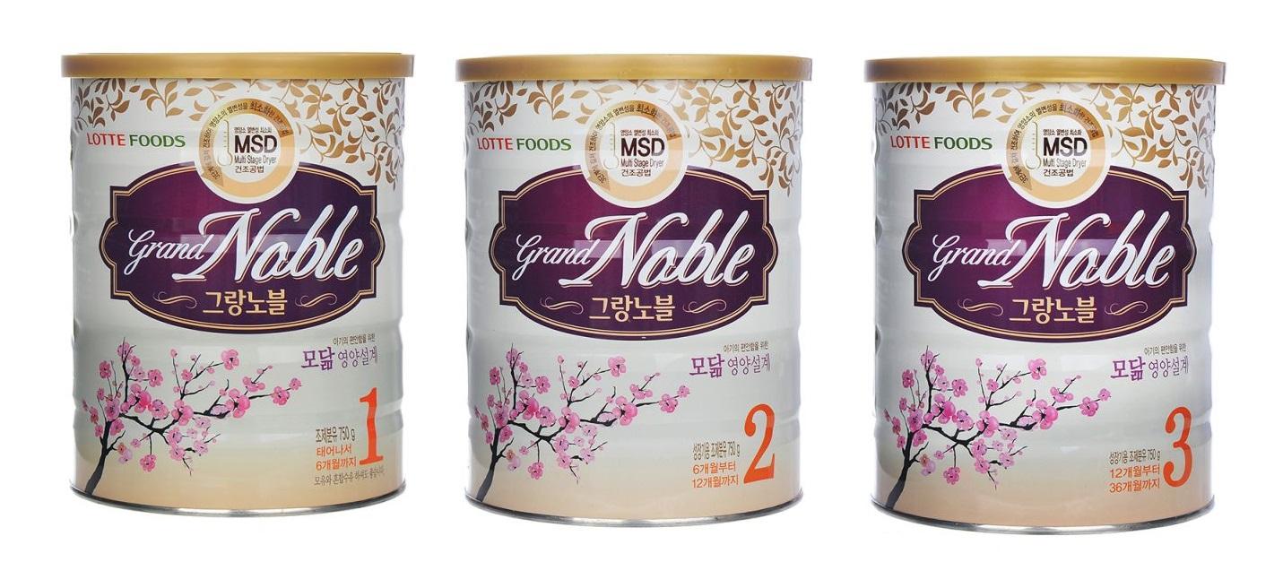 Đánh giá sữa Grand Noble đối với quá trình phát triển toàn diện của trẻ