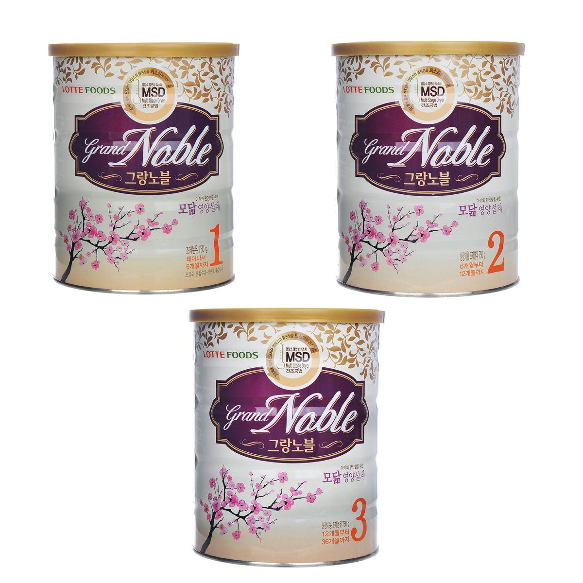 sữa grand noble của hàn quốc