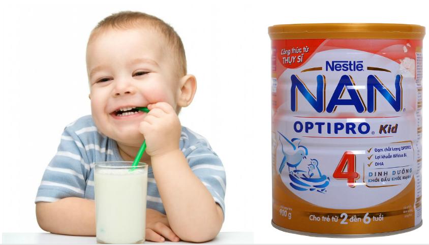 Sữa Nan Kid 4 có tốt không? Có tăng cân không?