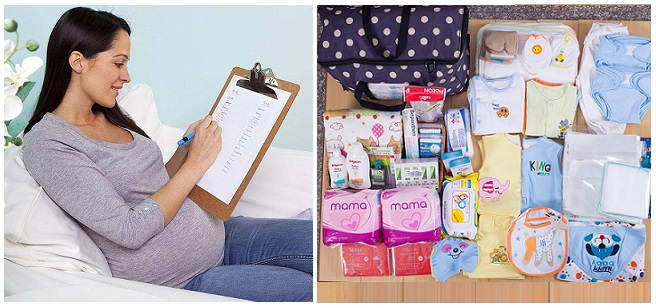 Liệt kê những đồ dùng cần chuẩn bị cho mẹ và bé trước khi sinh