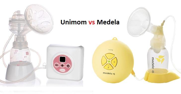 so sánh máy Unimom hay Medela