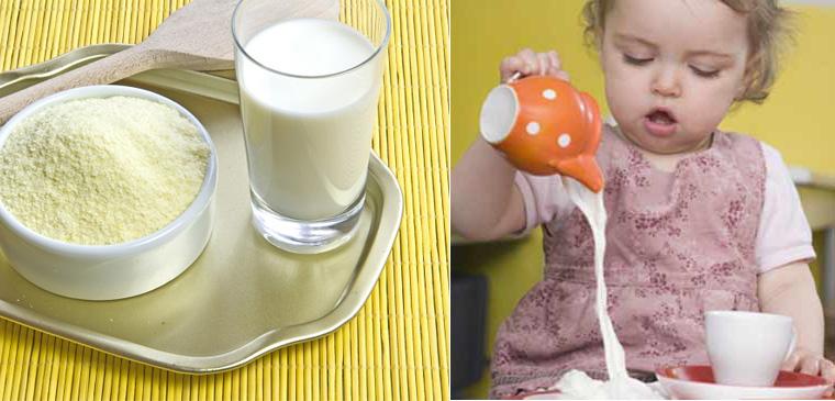 Cách pha bột ăn dặm Hipp với sữa công thức