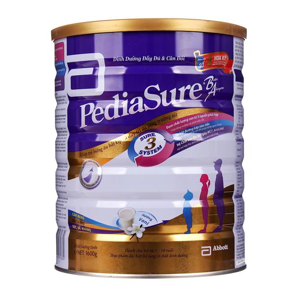 sữa pediasure ba