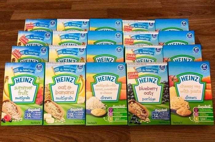 Bột ăn dặm HiPP và Heinz đâu là lựa chọn của mẹ?