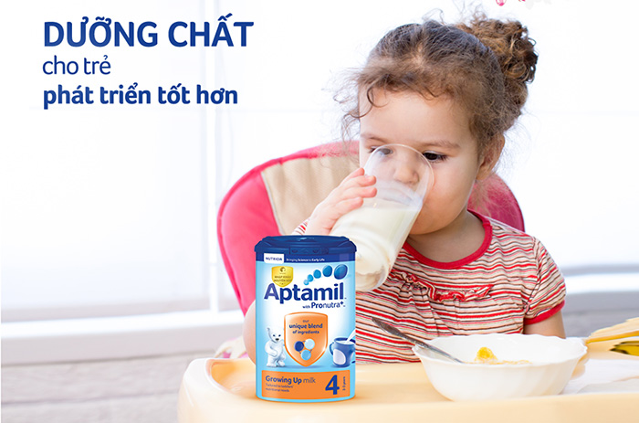 Review sữa Aptamil có tốt không? Có tăng cân không?