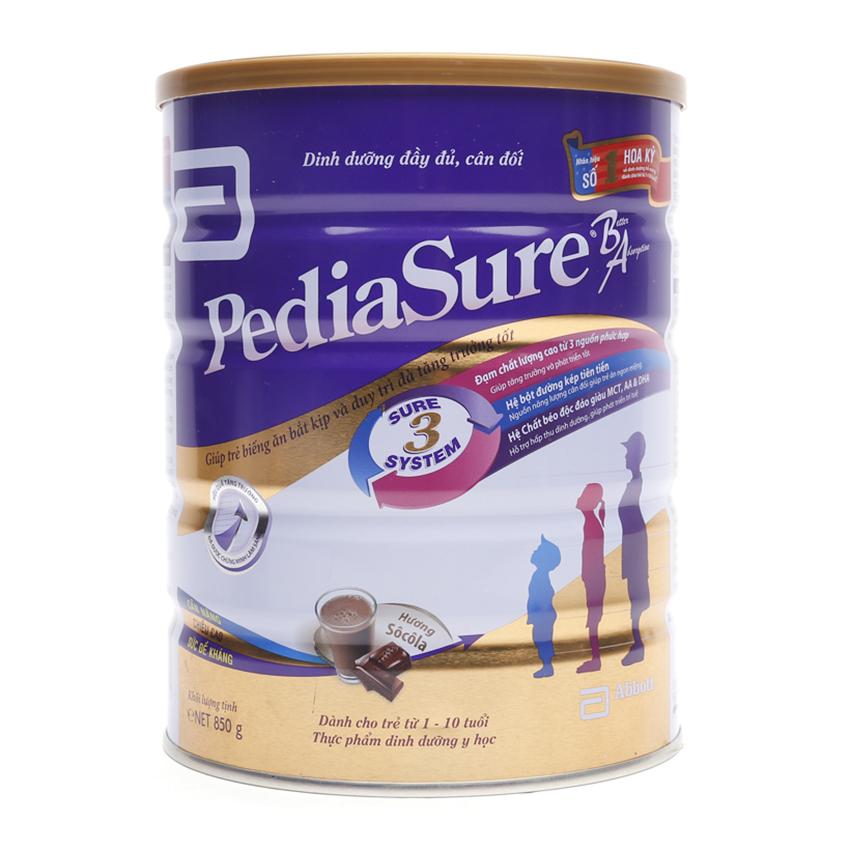 Mẹ có nên sử dụng sữa Pediasure cho trẻ dưới 1 tuổi?