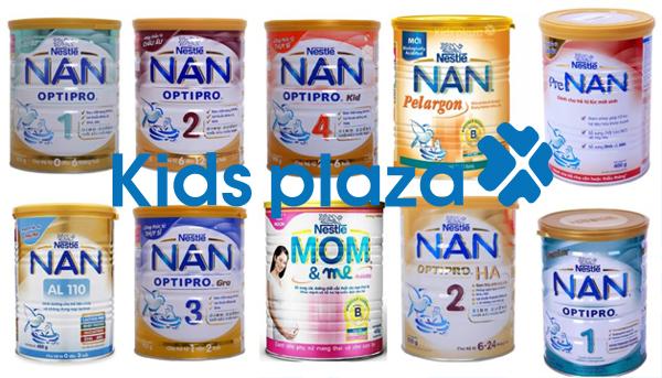 So sánh sữa Nan Nga và Nan Việt