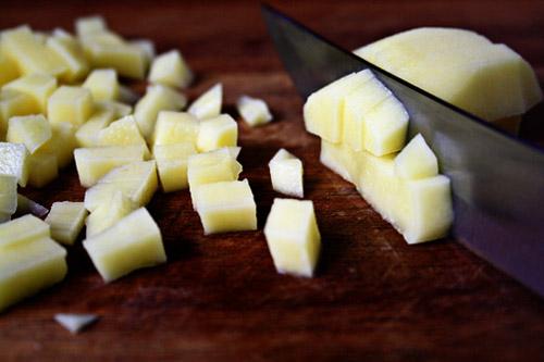 Thực đơn ăn dặm kiểu nhật - Súp khoai tây