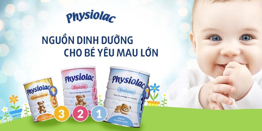 [Giải đáp cho mẹ] Sữa Physiolac có tốt không? Có tăng cân không?