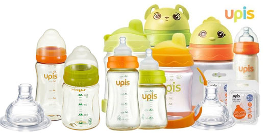 Bình sữa Pigeon nội địa Nhật và bình sữa UPIS Hàn Quốc loại nào tốt hơn?