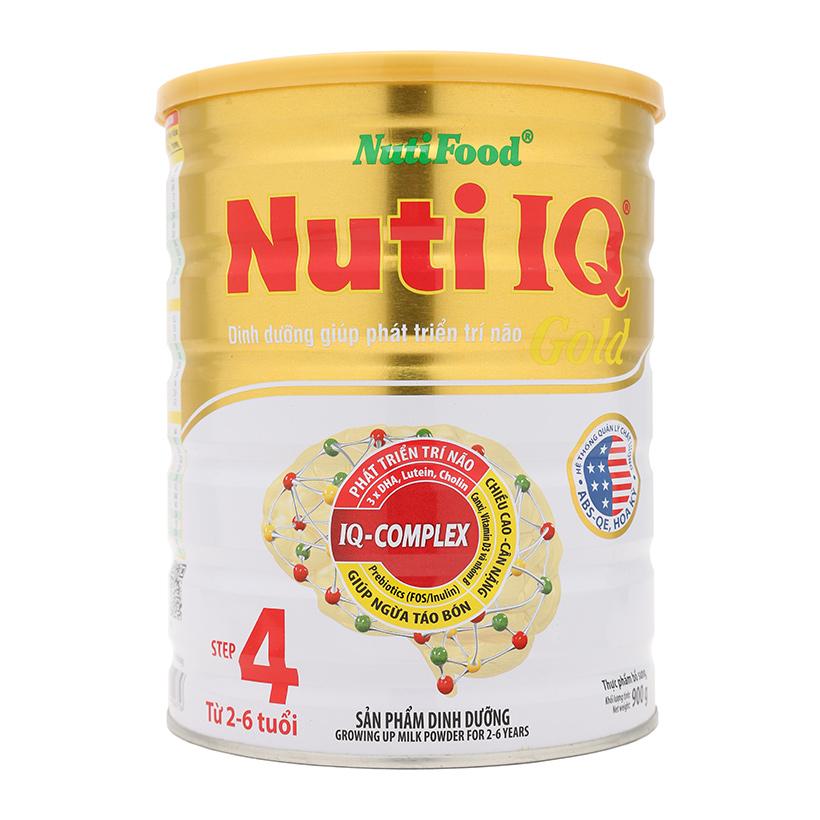 sữa nuti iq gold tốt cho sự phát triển trí não của trẻ
