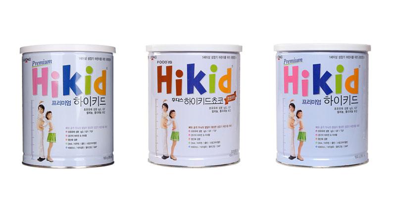 sữa tăng chiều cao cho bé 1 tuổi hikid hàn quốc