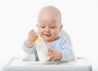 sữa tăng chiều cao cho bé dưới 1 tuổi