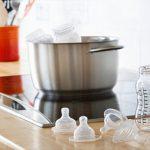 (Mách mẹ) Các cách tiệt trùng bình sữa Comotomo mới mua