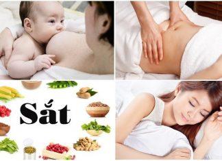 chế độ sinh hoạt sau sinh
