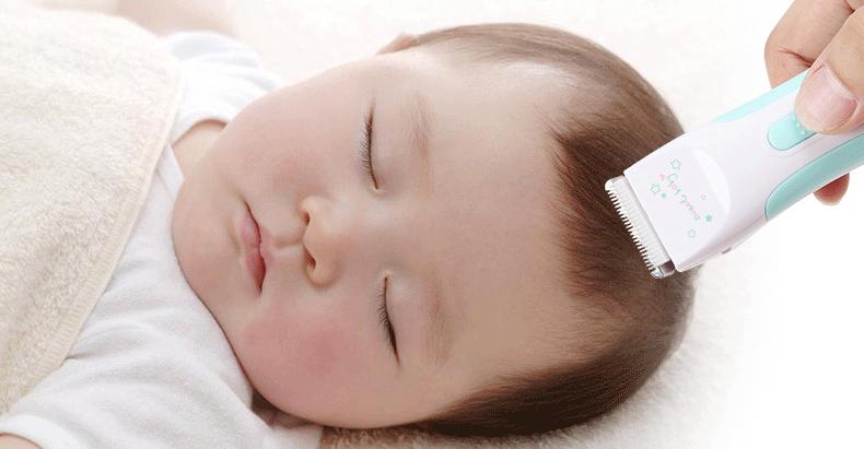 Hướng dẫn sử dụng tông đơ cắt tóc cho bé