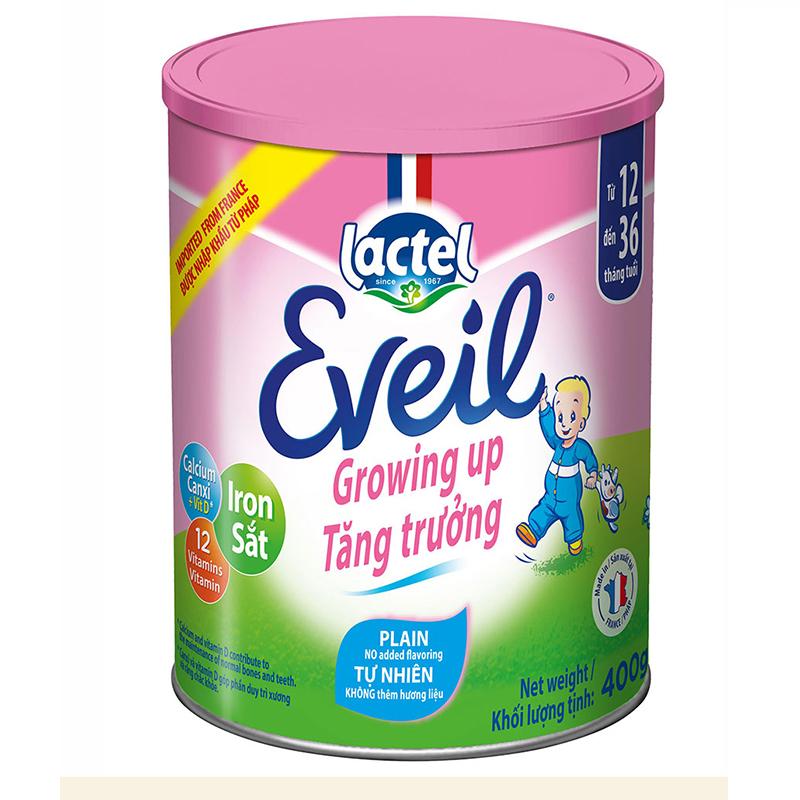 Sữa bột Lactel Eveil