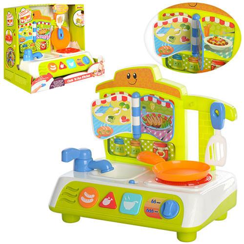 Bộ đồ chơi làm bếp có nhạc và đèn