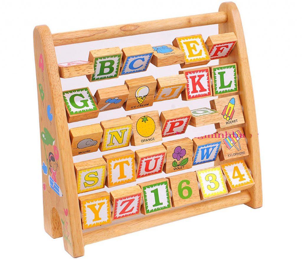 Đồ chơi gỗ bảng chữ cái