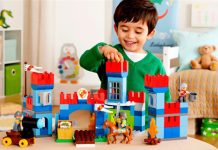 Đồ chơi lego cho bé
