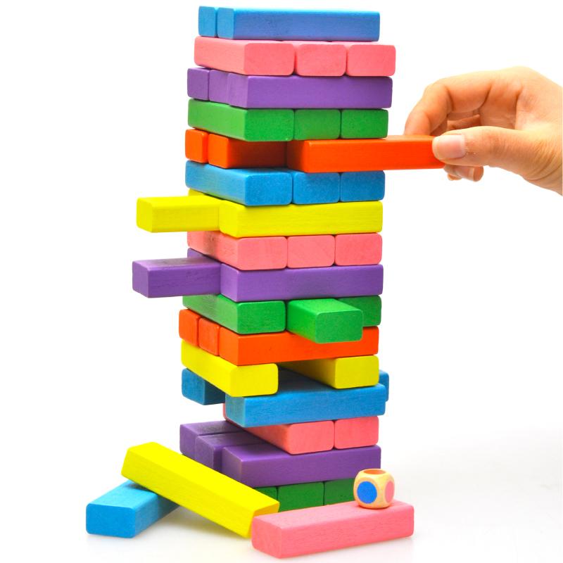 Đồ chơi rút gỗ màu cho trẻ em