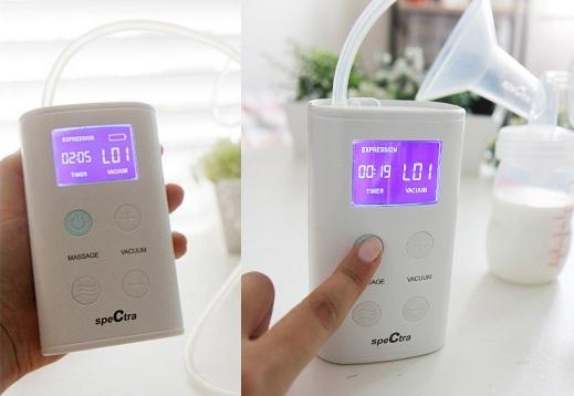 review máy hút sữa spectra Hàn Quốc có tốt không