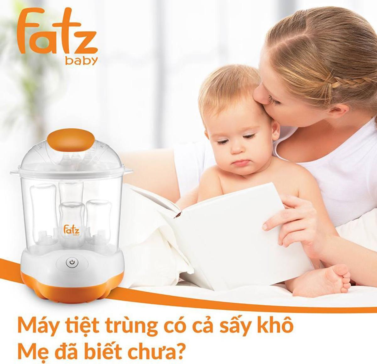 Review 2 loại máy tiệt trùng bình sữa sấy khô được tin dùng NHẤT hiện nay