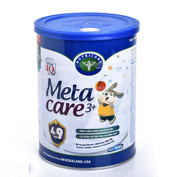 sữa cho bé meta care 3+